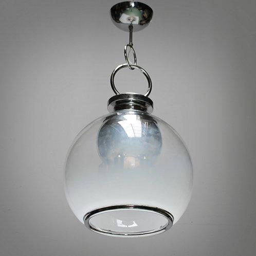 Six-Light Murano Glass Chandelier