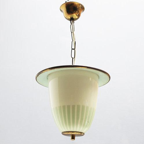 Green Italian Acorn Lantern