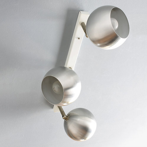 Modernist Three Light Fixture by Raak, Amsterdam