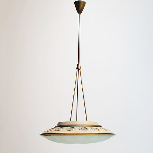 Italian Pendant Lamp by Lumen Milano