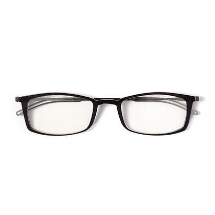 Brooklyn-משקפי קריאה דקיקים עם מוטות ללא נרתיק