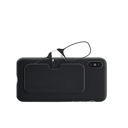 משקפיי קריאה + Xs Max כיסוי לאייפון