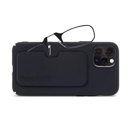 שני משקפיי קריאה עם כיסוי לאייפון Pro Max 12