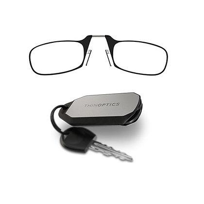 מחזיק מפתחות עם משקפי קריאה