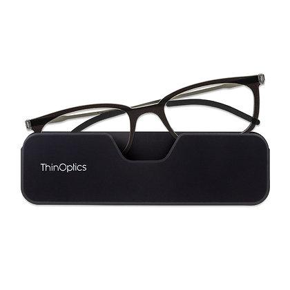 Connect-משקפי קריאה עם מסגרת מלאה ונרתיק לסמארטפון
