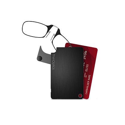 נרתיק דקיק עם משקפי קריאה-FlashCard