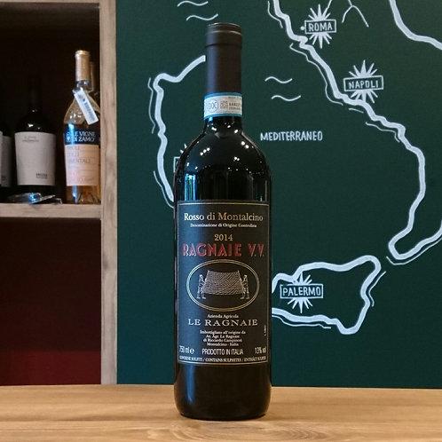 "Rosso di Montalcino DOC ""VV"" / Le Ragnaie  ロッソ ディ モンタルチーノ DOC ""VV"" / レ ラニャイエ"