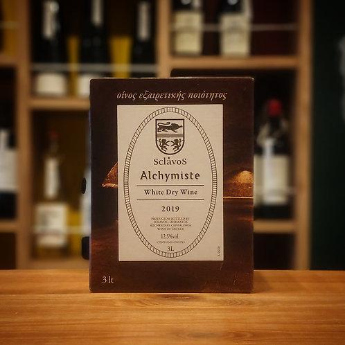 """Vin Blanc de Table """"Alchymisto"""" 3,000ml BIB / Domaine Sclavos  ヴァン ブラン ド ターブル """"アルシミスト"""" 3,000ml バッグ イン ボックス / ドメーヌ スクラヴォス"""
