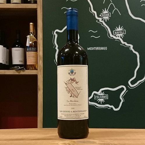 "1998 Toscana IGT ""La Ricolma"" / San Giusto a Rentennano  トスカーナ IGT ""ラ リコルマ"" / サン ジュスト ア レンテンナーノ"