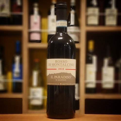 Rosso di Montalcino DOC / Il Paradiso di Manfredi  ロッソ ディ モンタルチーノDOC / イル パラディーゾ ディ マンフレディ