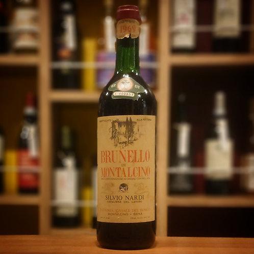 Brunello di Montalcino DOC/ Silvio Nardi  ブルネッロ ディ モンタルチーノ DOC/ シルヴィオ ナルディ