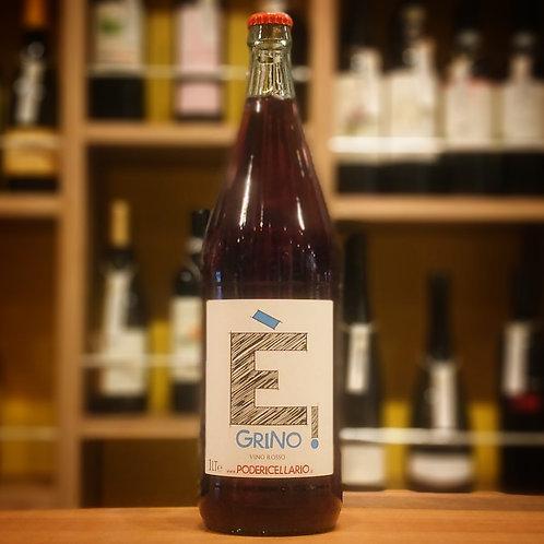 "Vino Rosso ""E' Grino!"" 1,000ml / Poderi Cellario  ヴィーノ ロッソ""エ グリノ!""1,000ml / ポデリ チェッラーリオ"