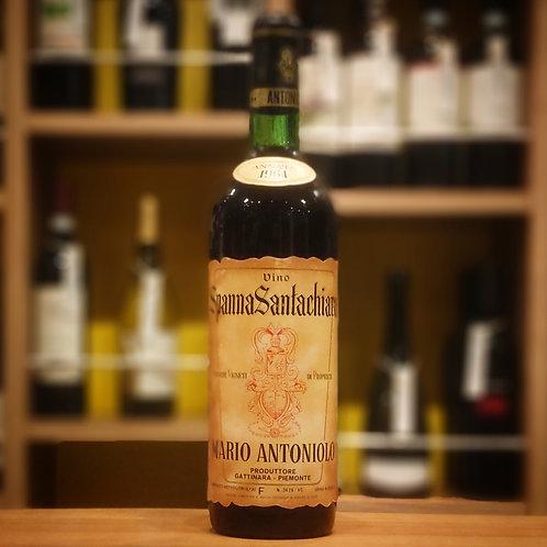 "Vino Spanna ""Santachiara"" / Mario Antoniolo  ヴィーノ スパンナ ""サンタキアラ""/ マリオ アントニオーロ"