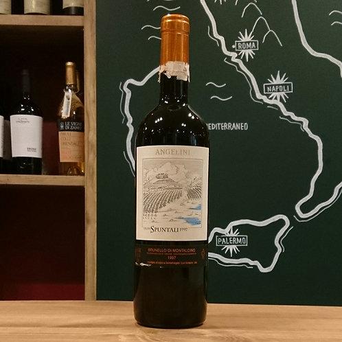 """1997 Brunello di Montalcino DOCG """"Vigna Spuntali"""" / Tenimenti Angelini S.p.A.  ブルネッロ ディ モンタルチーノ DOCG """"ヴィーニャ スプンターリ"""" / テニメンティ"""