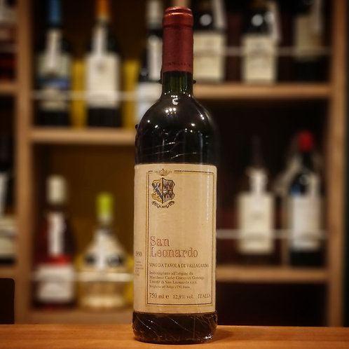 "Vino da Tavola di Vallagarina ""San Leonardo"" / San Leonardo  ヴィーノ ダ ターヴォラ ディ ヴァッラガリーナ ""サン レオナルド"" / サン レオナルド"