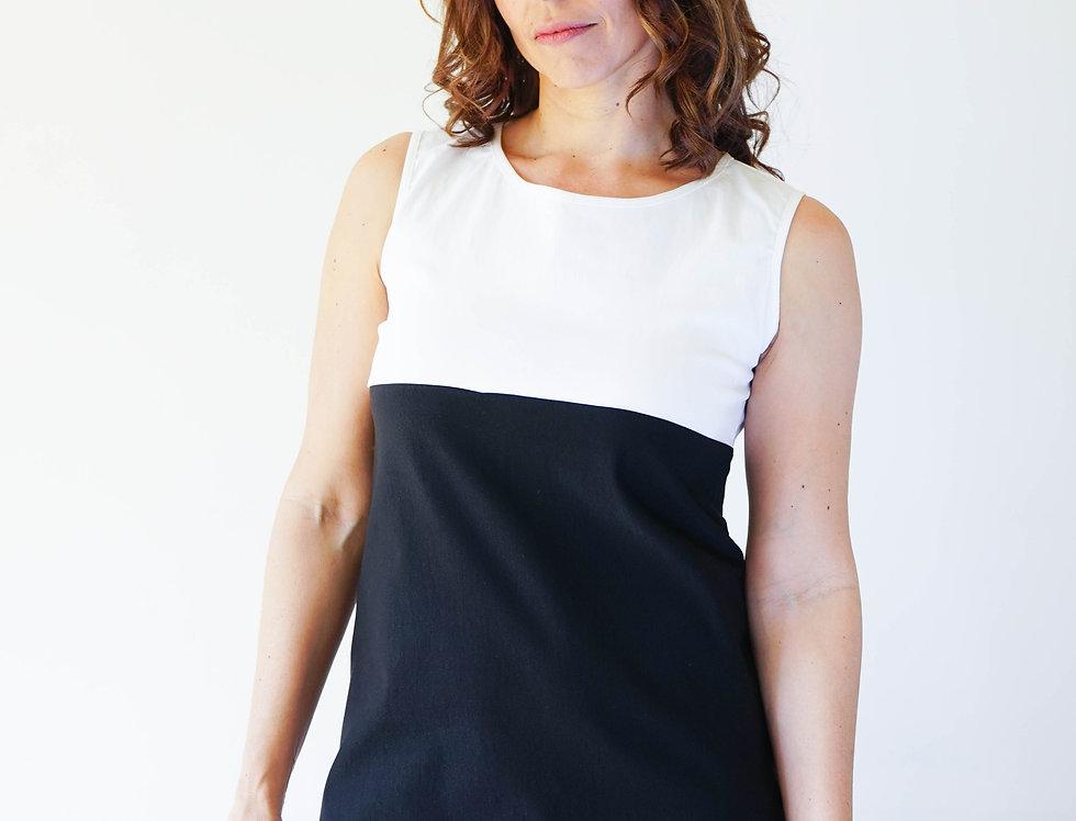Color Block Mini Dress (60´Street Collection)