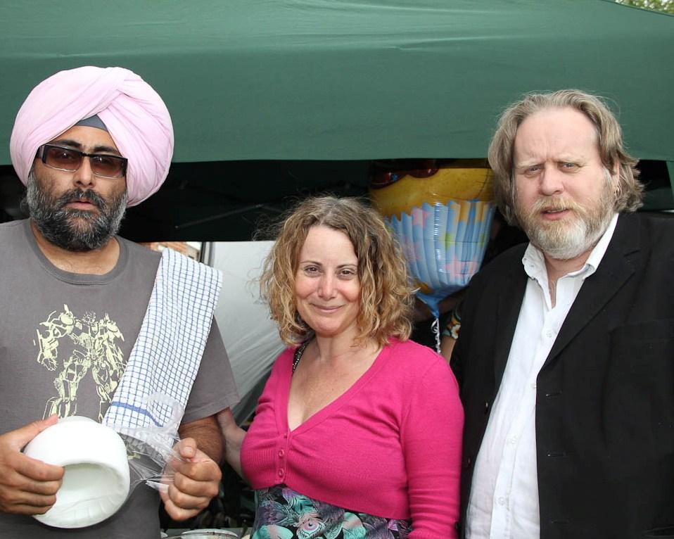 Hardeep Singh Kohli, Ruth, Stevyn Colgan