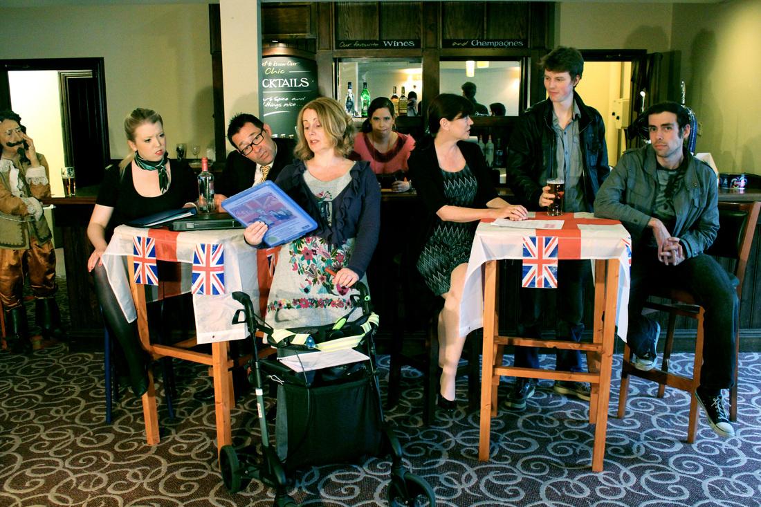 Quiz Mistress in 'Quiz NIght at the Britannia'