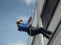 Abseil for Heads Up
