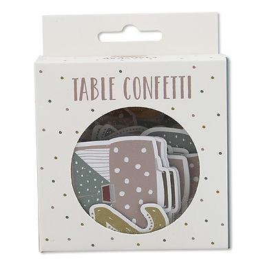 Table Confetti zur Einschulung