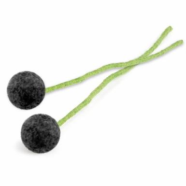 Filzblume 2er-Set Gross Blume, Marineblau