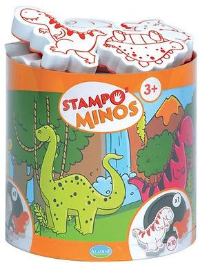 Kinder Stempel Minos Dino