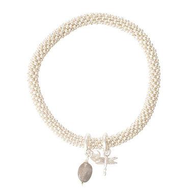 Jacky Labradorite Dragonfly Silber Armband