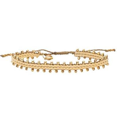 Happiness Citrin Gold Armband