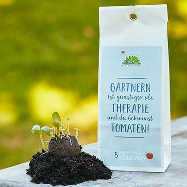 Gärtnern ist günstiger als Therapie und du bekommst Tomaten