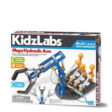 """""""Mega Hydraulik Roboterarm - KidzLabs"""""""
