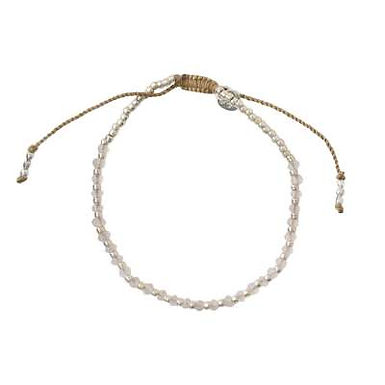 Beautiful Rosenquarz Silber Armband