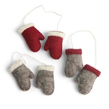 Handschuhe Set von 3