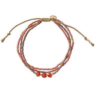 Gentle Karneol Gold Armband