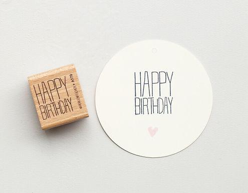STEMPEL | TYPO HAPPY BIRTHDAY 3