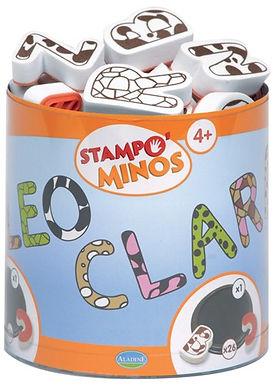 Kinder Stempel Minos Alphabet Grossbuchstaben