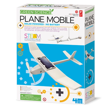 """Solar Flieger Mobile - Green Science"""