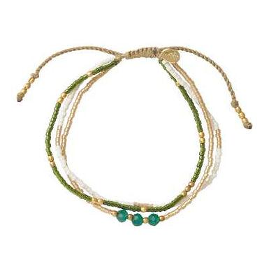 Gentle Aventurin Gold Armband