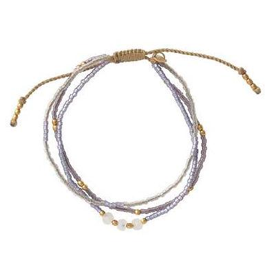 Gentle Mondstein Gold Armband