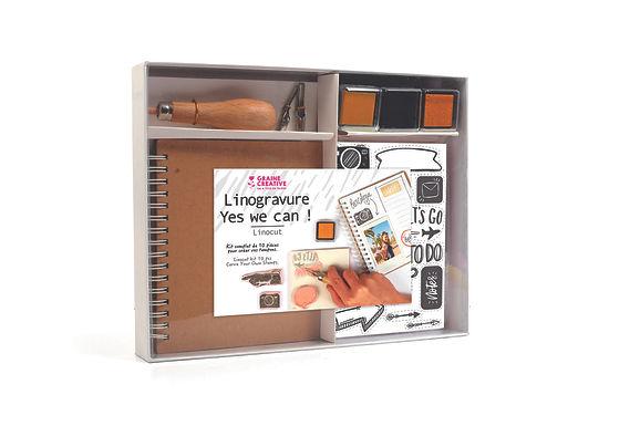 Linogravur-Box