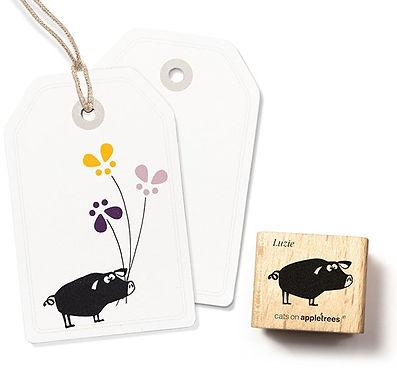 Stempel Kleines Schwein Luzie