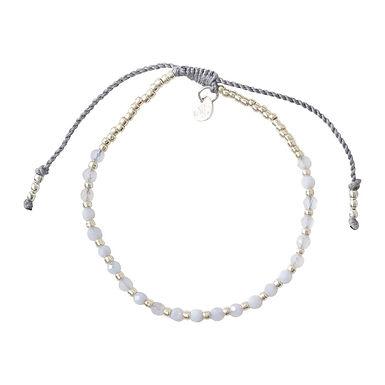 Schönes Lace Achat Silber Armband