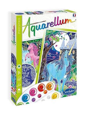 Aquarellum Nachtleuchtend Einhorn