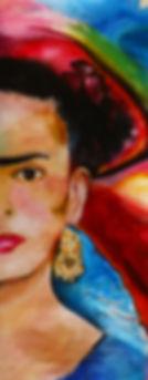 Schilderij Frida Kahlo - Lonneke Jans