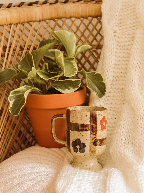 Tasse à café en grès