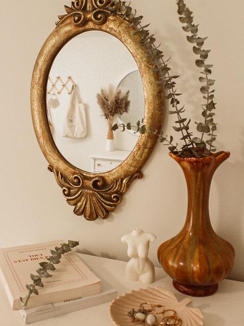 Miroir relooké vintage
