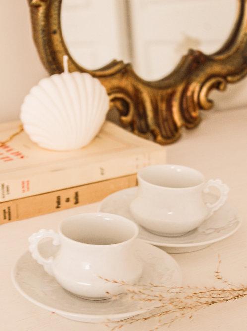 Duo de tasses à espresso