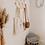 Thumbnail: Miroir ovale en osier