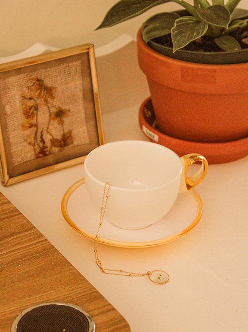 Tasse vintage à cappuccino