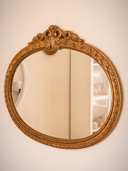 Grand miroir de style baroque