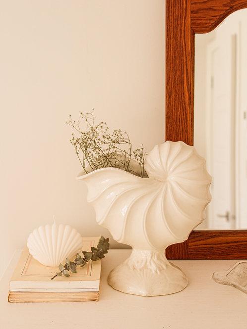 Vase coquillage piédestal